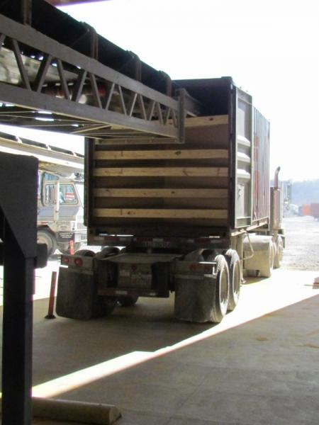 10,000 BPH container loading system