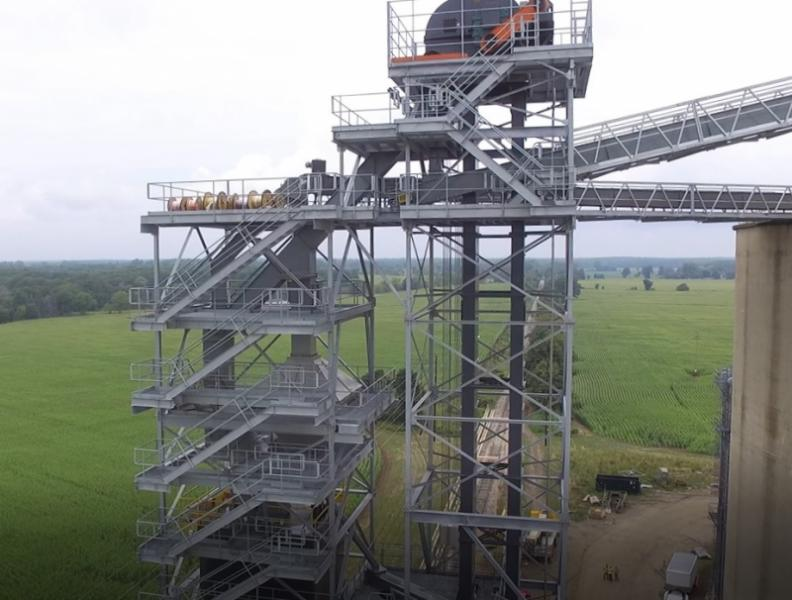 Multi-level Galvanized Towers