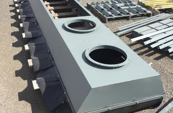 Dust Collection Hood For 80k Rail Spout