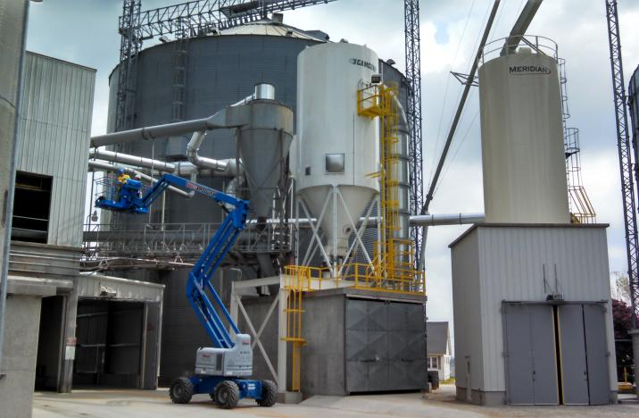 Dust System at Grain Terminal Facility