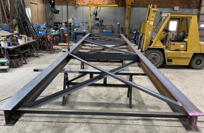 Fabrication of Custom Support Tower