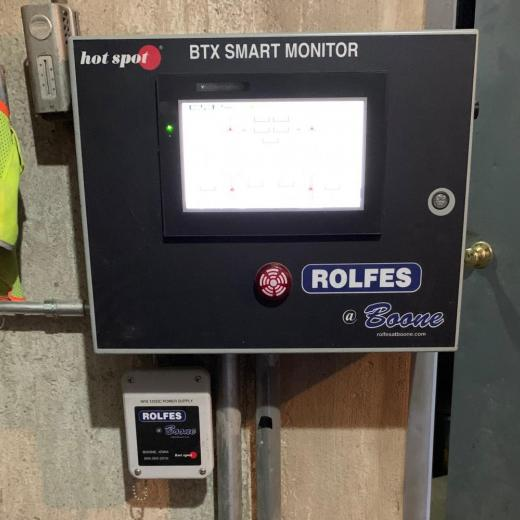 BTX Smart Monitor protecting a terminal grain elevator operation